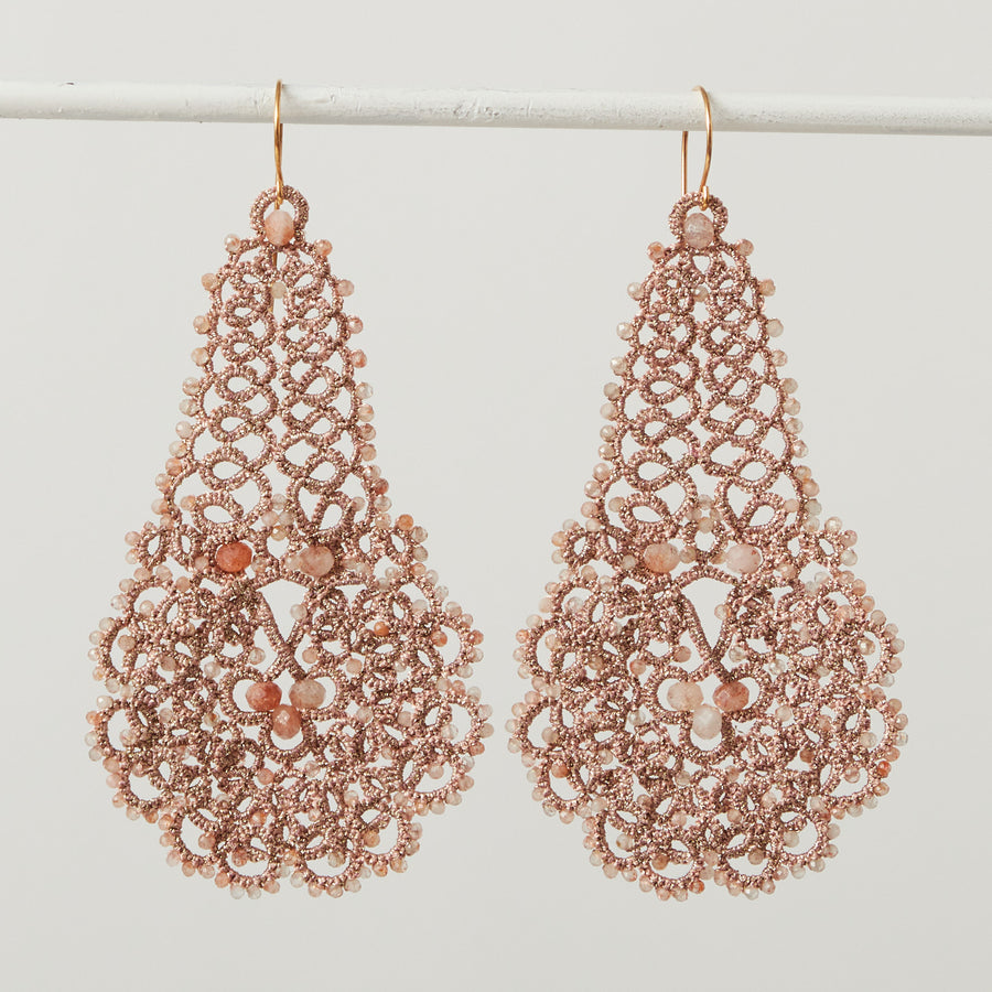 Lace Chandelier Earrings