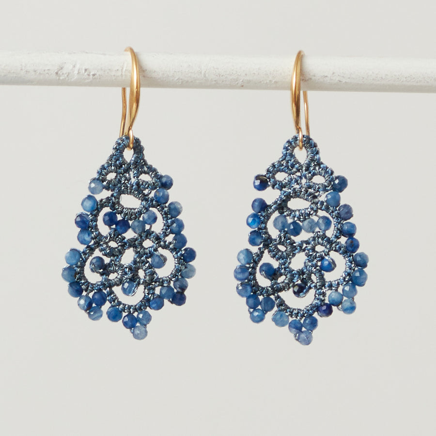 Kyanite Lace Earrings