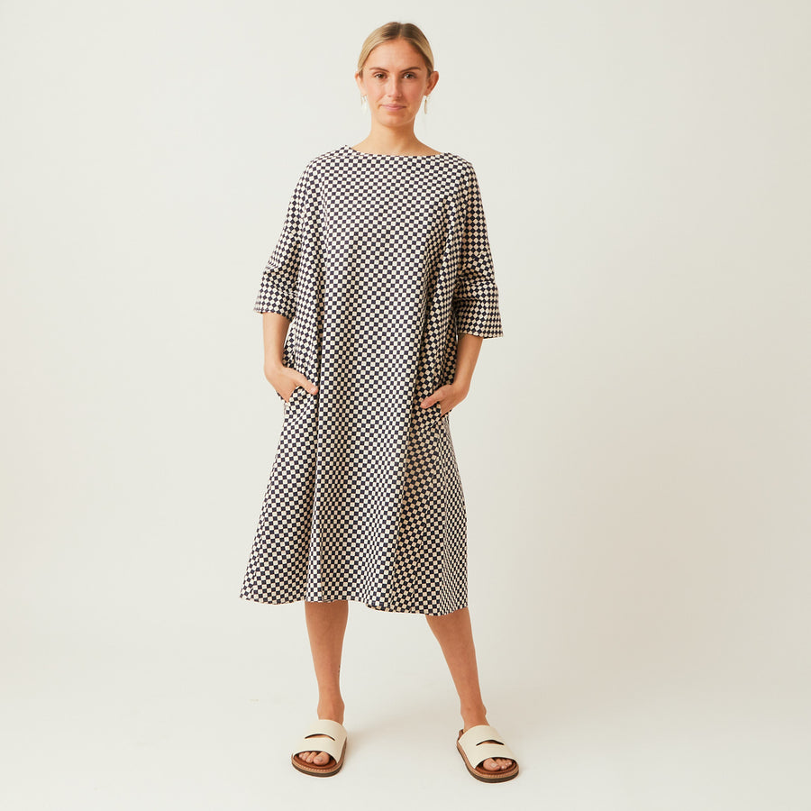 Apuntob Cotton Swing Dress