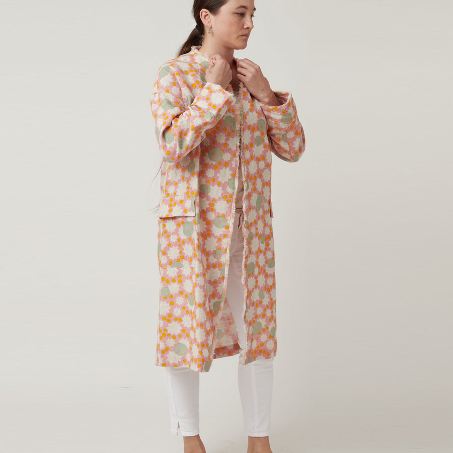 An An Londree Linen Duster