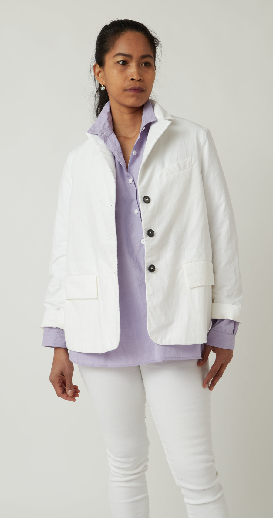 Bergfabel Farmer Jacket White