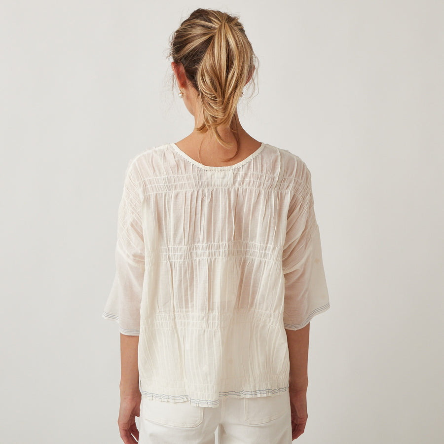 Runaway Bicycle Cotton Tori Top