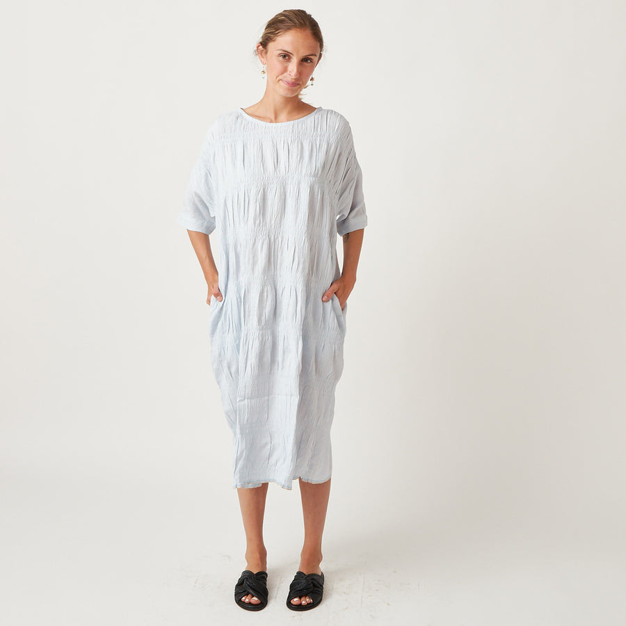 Runaway Bicycle Linen Tori Dress