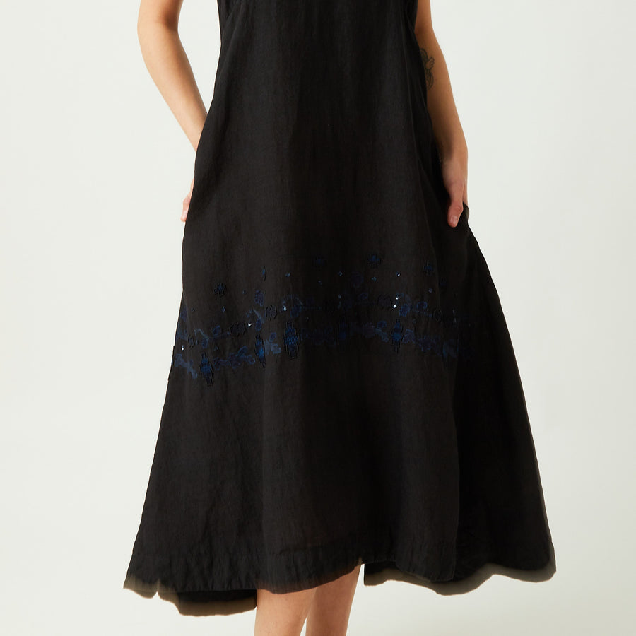 AO Dress Embroidered Strap Dress