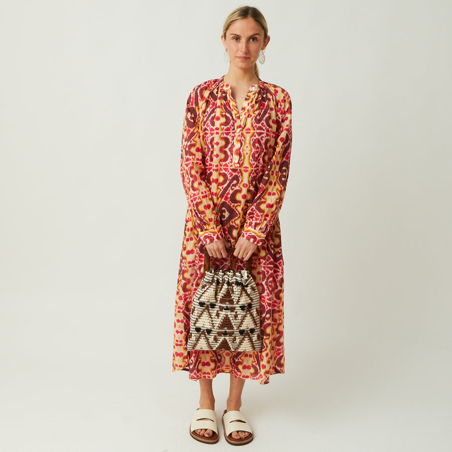 V. de Vinster Ikat Dress