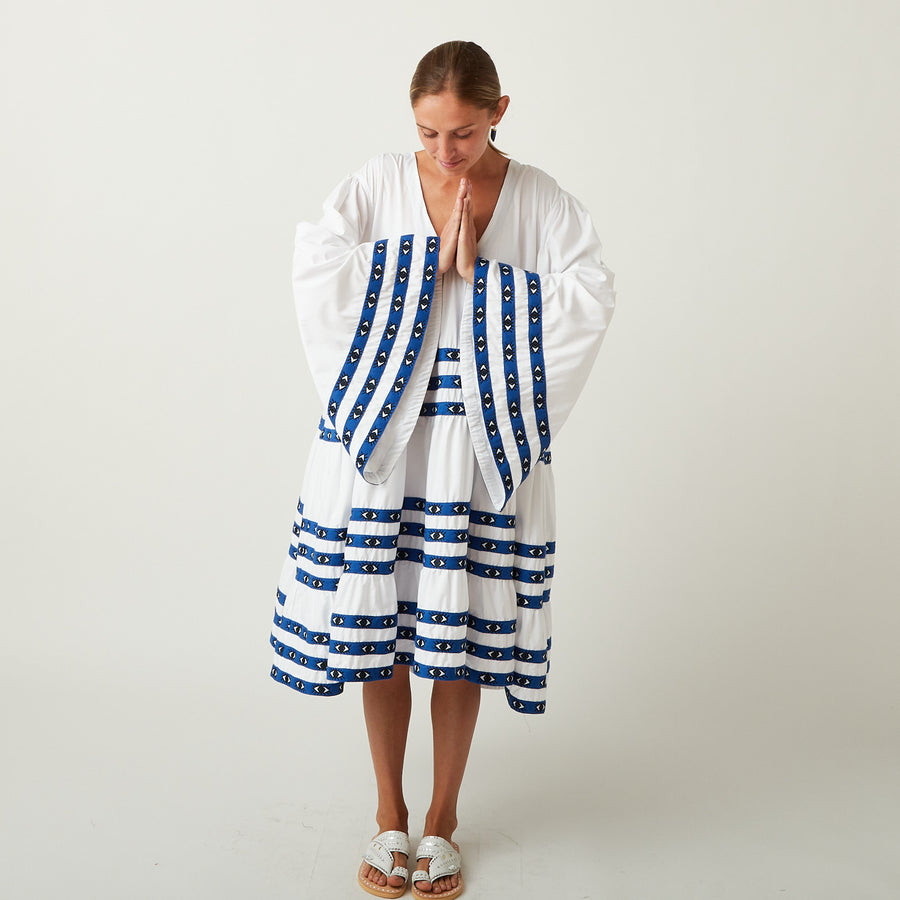 Flora Sardalos Cotton Eye Tunic