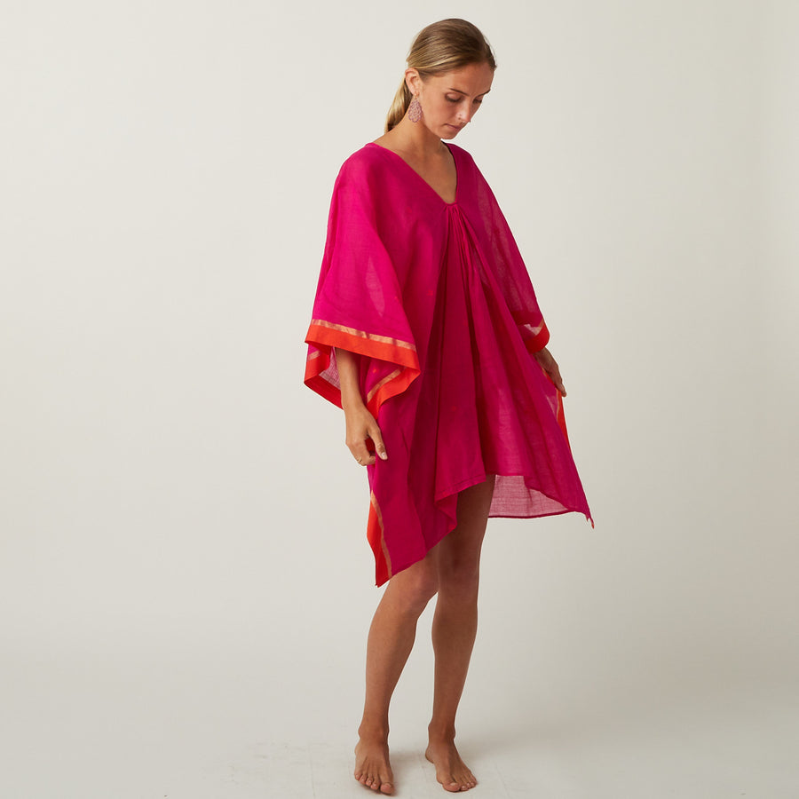 TWO Pink Short Kaftan