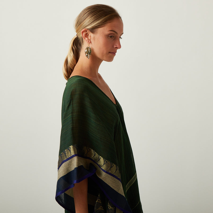 TWO Green Stripe Kaftan