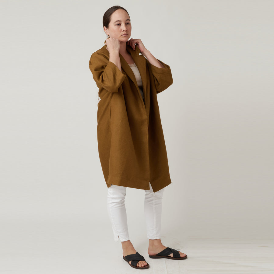 Gallego Housecoat in Gold