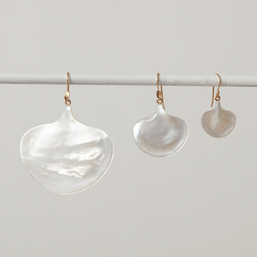 Annette Ferdinandsen Mother of Pearl Ginkgo Leaf
