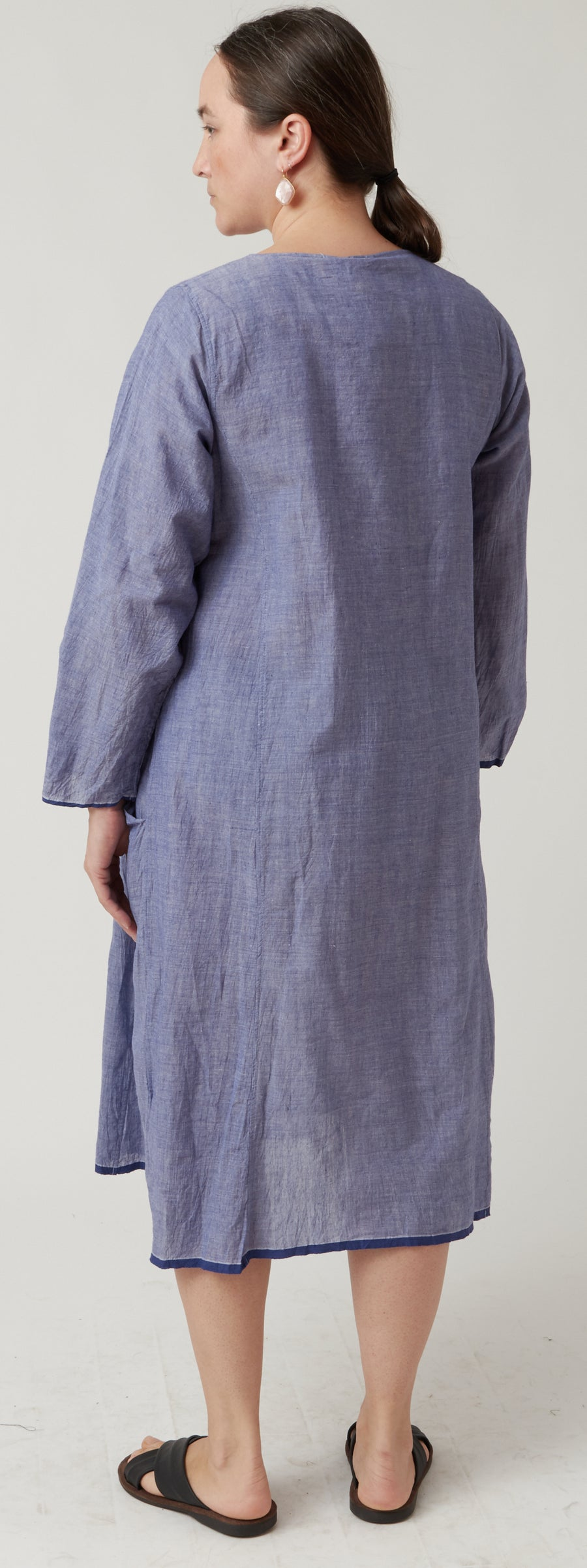 Injiri Azure Long Sleeved Dress