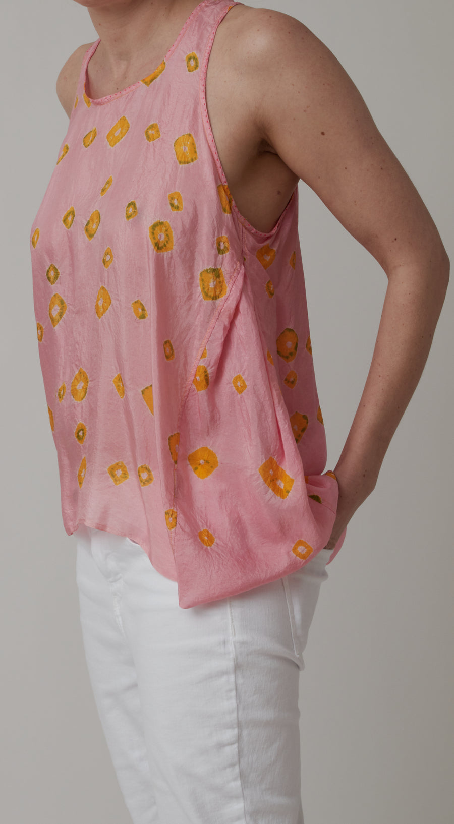 Injiri Pink Sleeveless Top