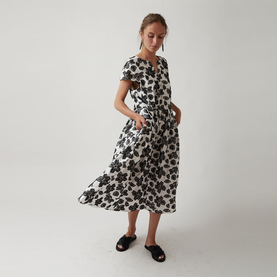 Manuelle Guibal Floral Dress