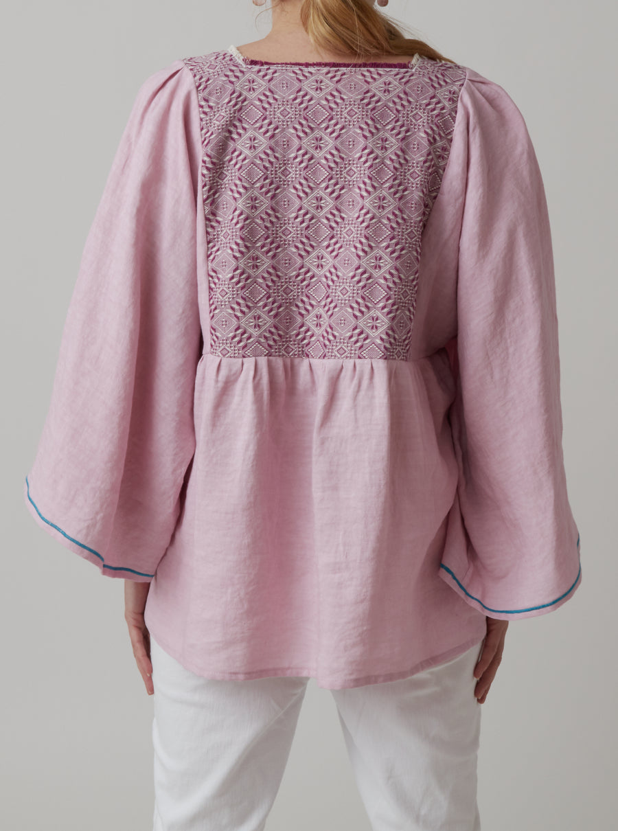 Nina Leuca Embroidered Top