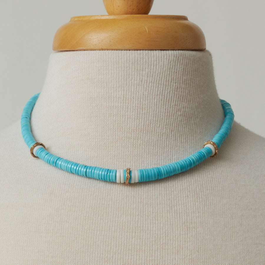 Annette Ferdinandsen Turquoise Amazon Necklace