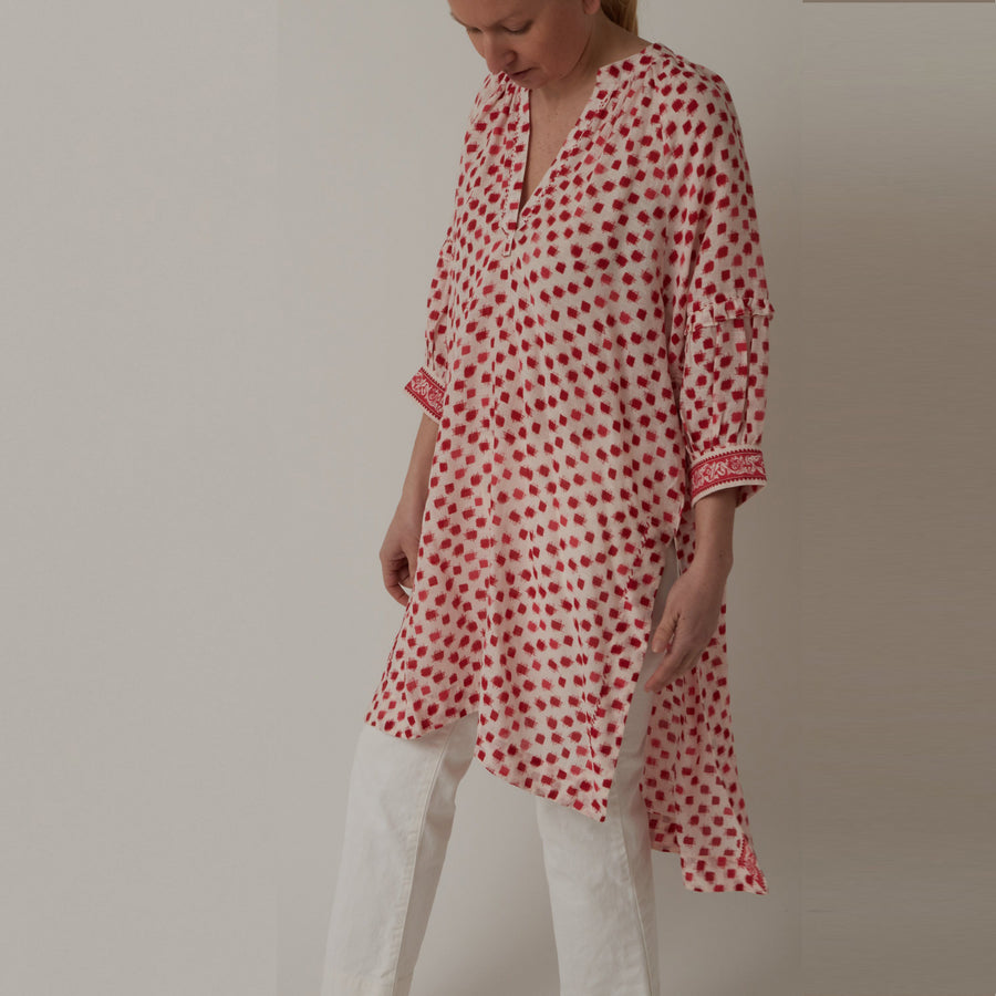 Viam Check Tunic