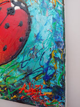 Load image into Gallery viewer, The LADYBUG / Original Canvas Painting - By Andy Habib