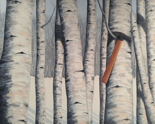 BIRCH TREES 2 - By Andy Habib