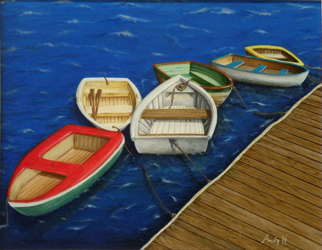PORTUGUESE BOATS - By Andy Habib