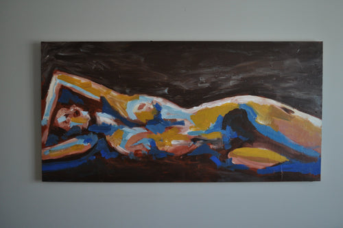 NUDE Original painting / By Noush Kadian