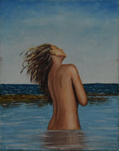 Load image into Gallery viewer, GIRL AT THE BEACH - By Natty Pacheco