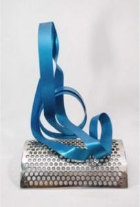AZUL  SCUPTURE / Original stainless steel sculpture By Luiz Campoy