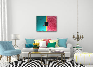 DUALITY / Original canvas painting - By Andy Habib