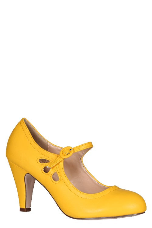 Oh My Mary J's Heels Yellow