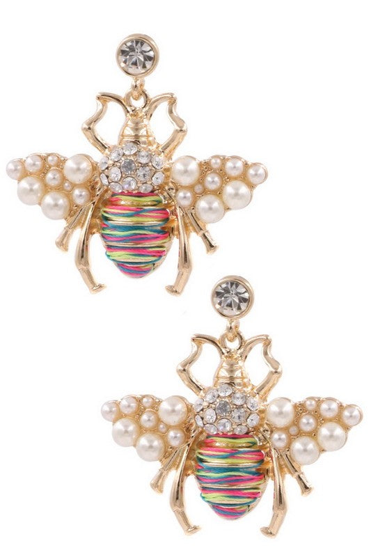 The Queen Bee Earring