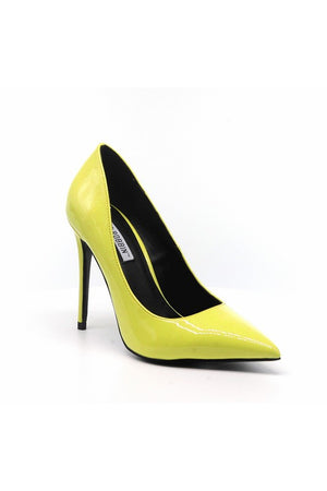 Step Up Your Game Heels Yellow