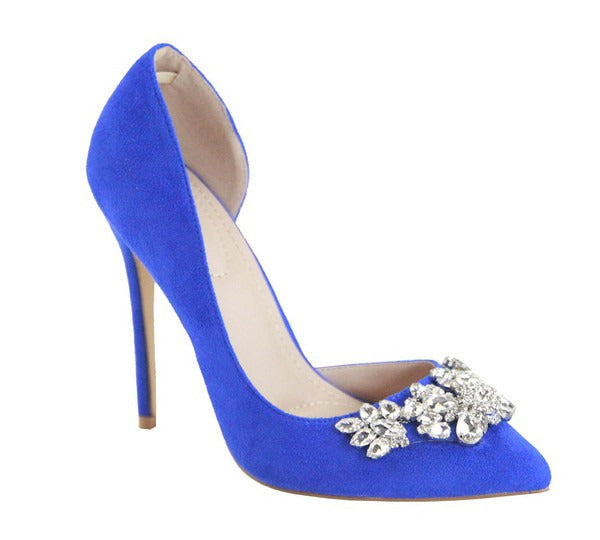 Heavevnly Heels Royal Blue
