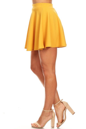 The Sass Skater Skirt Sky Blue