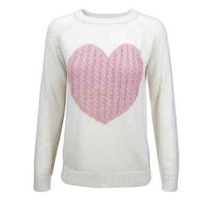 You Have my Heart Sweater Pink