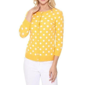 Poetry of Polka Dots Yellow