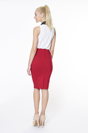 Joan Skirt - Red