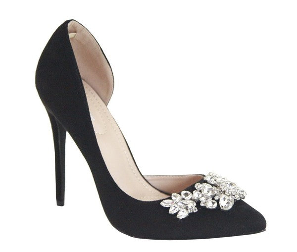 Heavevnly Heels Black