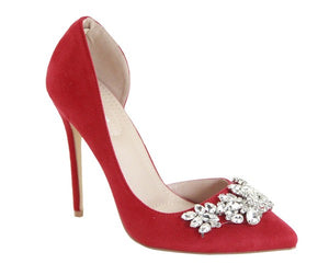 Heavevnly Heels Red
