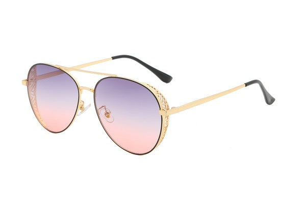 Sunny Skies Aviator Sunglasses