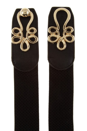 Golden Girl Belt Black