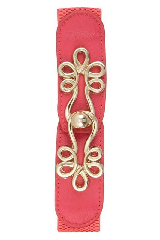 Golden Girl Belt Coral