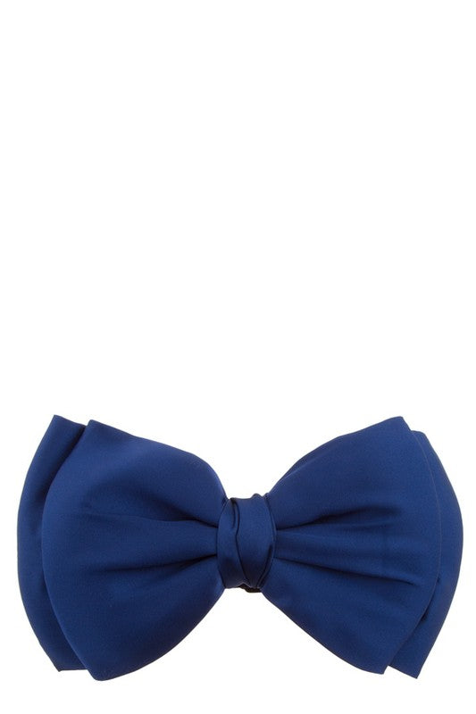 Betty Bow Belt Navy