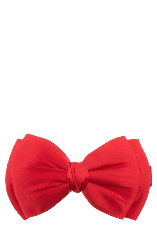 Betty Bow Belt Red