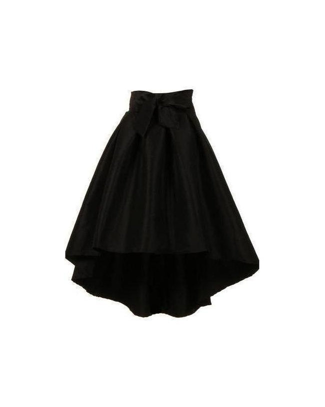 Diamonds Are Forever High Low Skirt Black