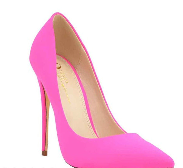 All About The Shoes Fuchsia