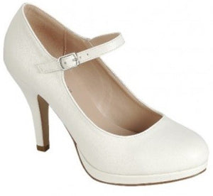 Once Upon A Time High Heels White