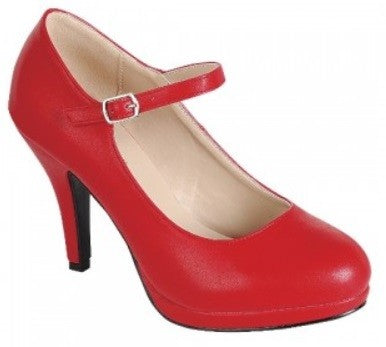 Once Upon A Time High Heels Red