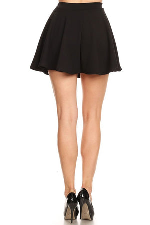 The Sass Skater Skirt Red