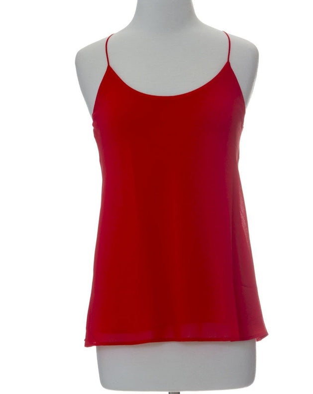 A Night Out String Top - Red