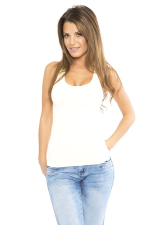 Lace Tank - Off White