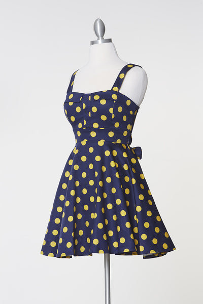 Merry Marilyn Dress - Yellow